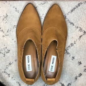 Steve Madden Brown/Tan Ankle Boots -7.5
